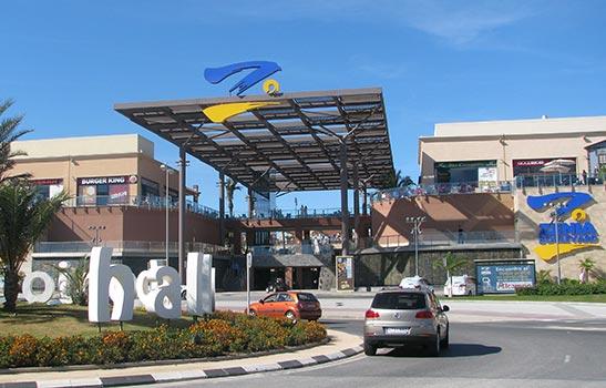 La Zenia Boulevard near Torrevieja
