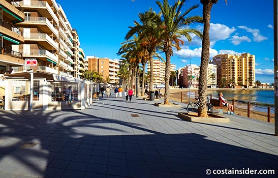 The Promenade at Torrevieja
