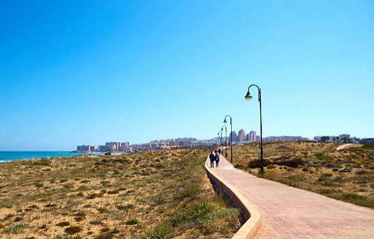 Coastal Path at La Mata Torrevieja