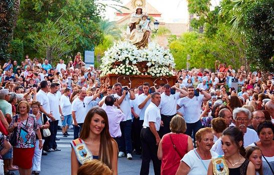 Virgen-del-Carmen Festival Torrevieja